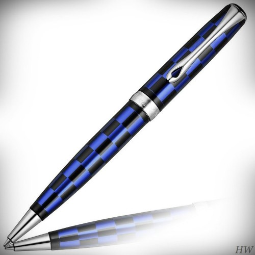 Diplomat Drehbleistift Excellence A plus Rome schwarz-blau