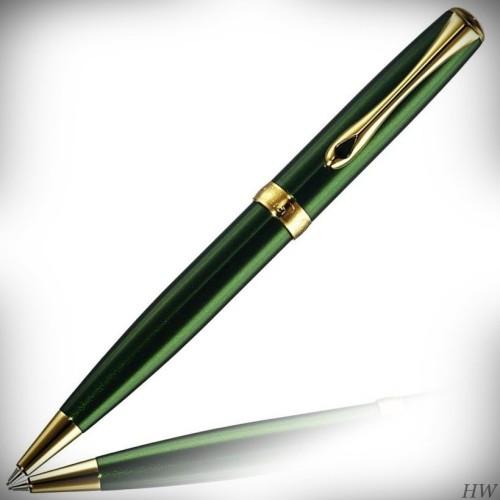 Diplomat Drehbleistift Excellence A2 Evergreen gold