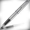 Diplomat Tintenroller Excellence A2 Chrom guillochiert
