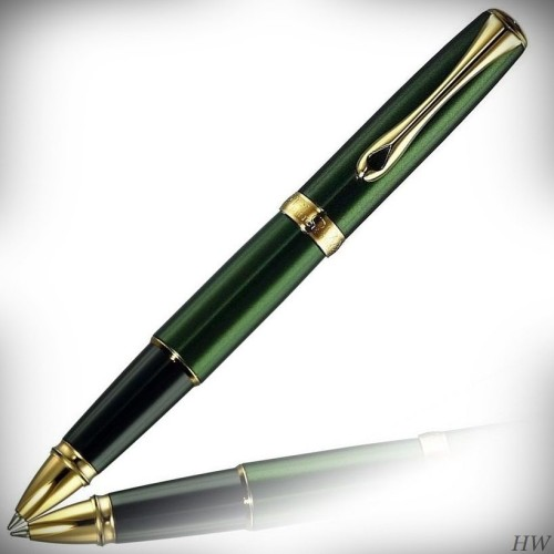 Diplomat Tintenroller Excellence A2 Evergreen gold