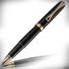 Diplomat Tintenroller Excellence A2 Lack schwarz-gold