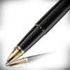 Diplomat Tintenroller Excellence A2 Lack schwarz-gold_2