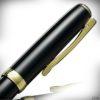 Diplomat Tintenroller Excellence A2 Lack schwarz-gold_4