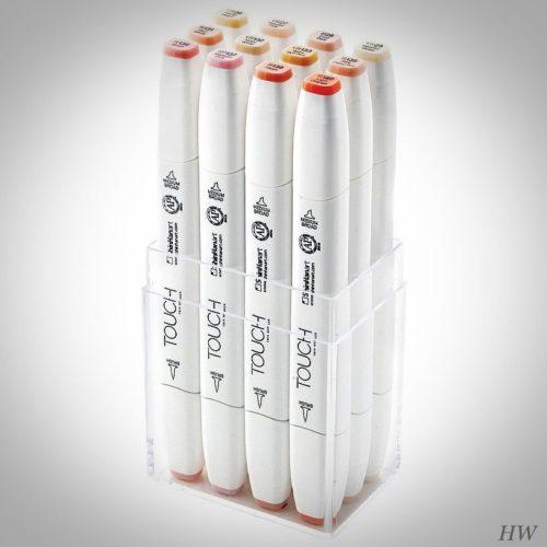 ShinHan Touch Twin Brush Marker Skin Tones