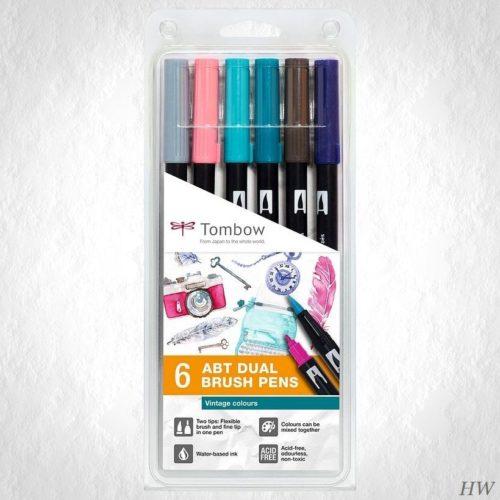 Tombow Dual Brush Pen ABT-6P-5
