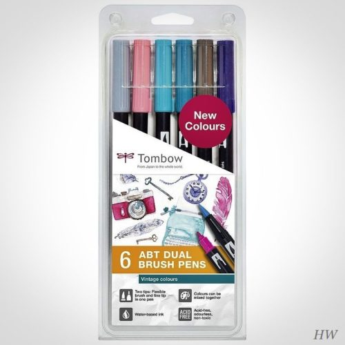 Tombow Dual Brush Pen ABT-6P-5