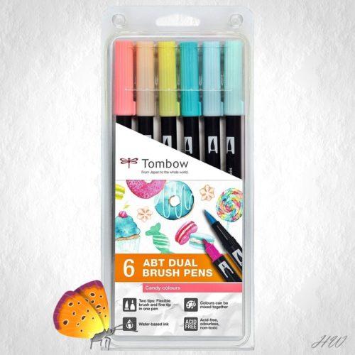 Tombow Dual Brush Pen ABT-6P-4