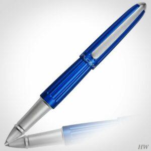Diplomat Tintenroller Aero blau