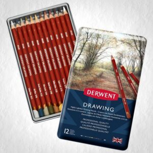 Derwent Drawing Pencils 12