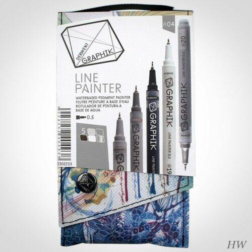 Derwent Line Painter Set 4