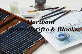 >>Derwent Aquarellstifte und Blocks