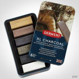 Derwent XL Charcoal Blöcke