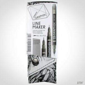 Derwent Line Marker Graphite Set