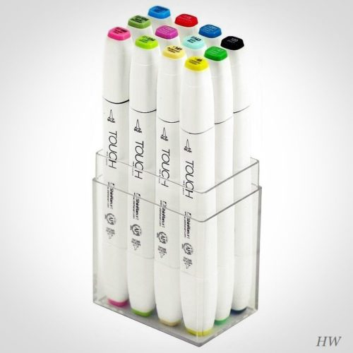 Shinhan Touch Twin Brush Marker Spring Colors