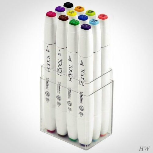 Shinhan Touch Twin Brush Marker Summer Colors