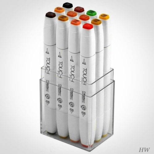 Shinhan Touch Twin Brush Marker Autumn Colors