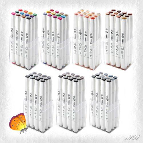 Shinhan Touch Brush Marker 12er-Sets