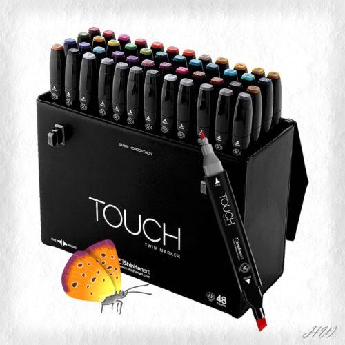 ShinHan Touch Twin Marker 48er-Set