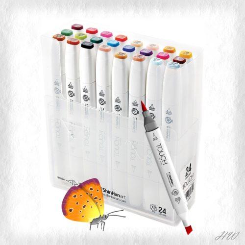 Shinhan Touch Brush Marker 24er-Set