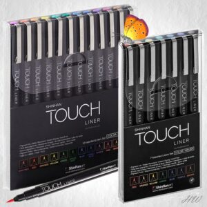 Shinhan Touch Liner Brush Color