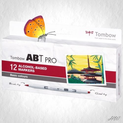 Tombow ABT Pro Marker ABTP-12P-1