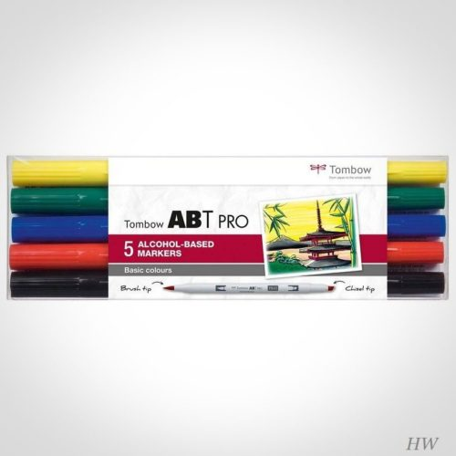 Tombow ABT Pro Marker ABTP-5P-1