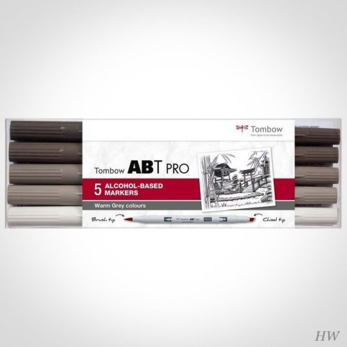 Tombow ABT Pro Marker ABTP-5P-3