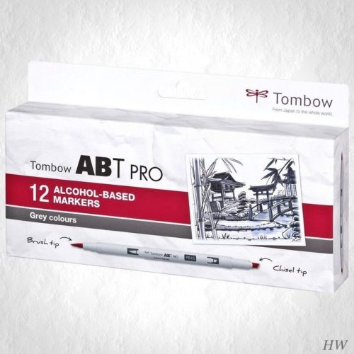 Tombow ABT Pro Marker ABTP-12P-3