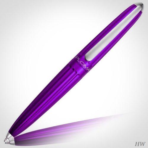 Diplomat Kugelschreiber Aero violett