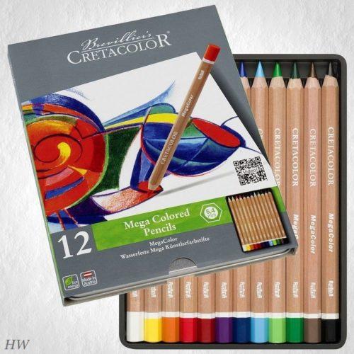Cretacolor Megacolor Künstlerfarbstifte 29012