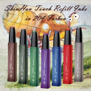 Shinhan Touch Refill Ink