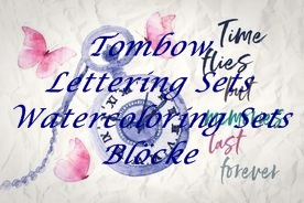 >>Lettering / Watercoloring