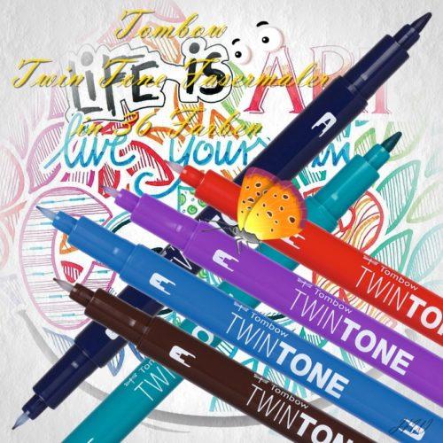 Tombow Twin Tone Fasermaler