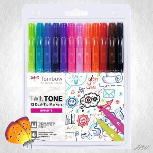 Tombow Twin Tone WS-PK-12P-1