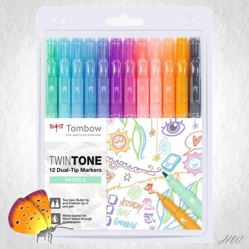 Tombow Twin Tone WS-PK-12P-2