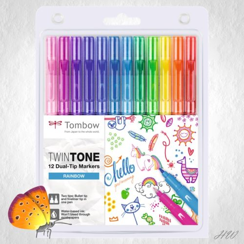 Tombow Twin Tone WS-PK-12P-3
