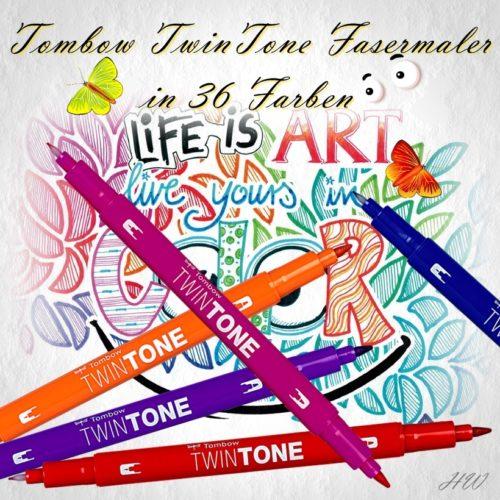 Tombow TwinTone Fasermaler
