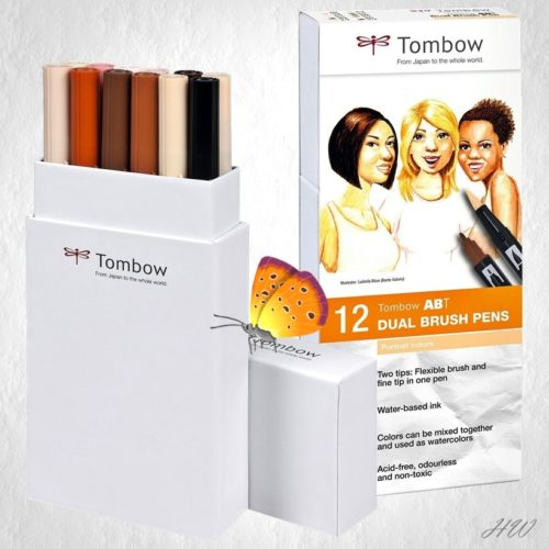 Tombow Dual Brush Pen ABT-12P-4