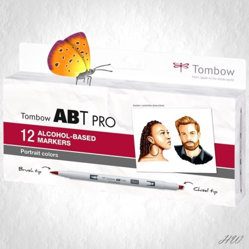 Tombow ABT Pro Marker ABTP-12P-6