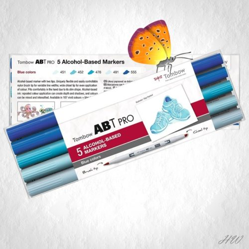 Tombow ABT Pro Marker ABTP-5P-5