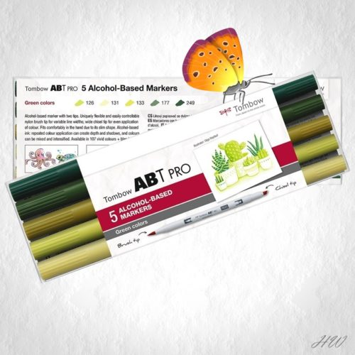 Tombow ABT Pro Marker ABTP-5P-6