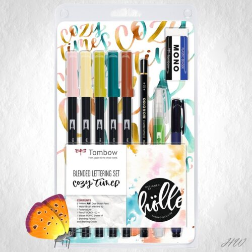 Tombow Lettering Set Cozy Times