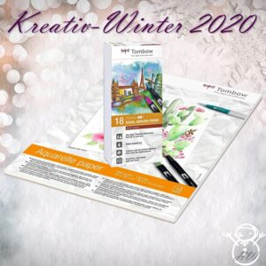 Tombow Kreativ-Winter Set 3
