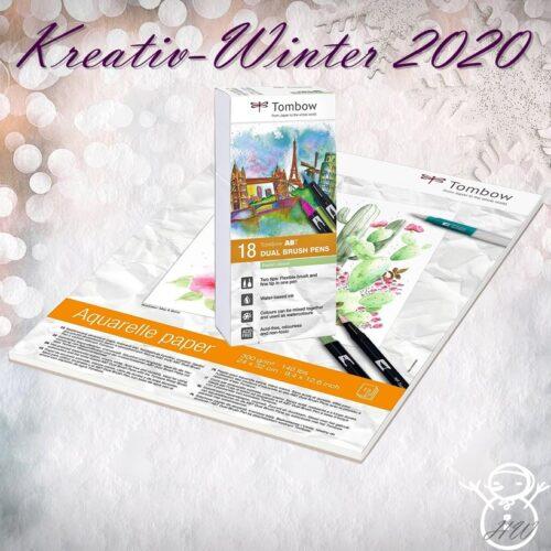 Tombow Kreativ-Winter Set 4