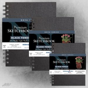 Sketchbooks Nova Black