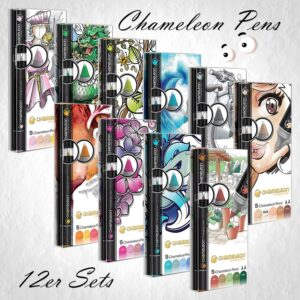 Chameleon Pens 5er Sets