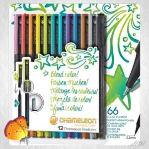 Chameleon Fineliner Bright Colors
