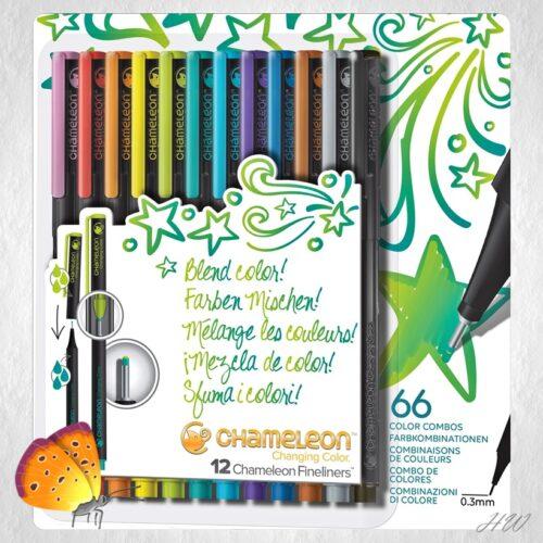 Chameleon Fineliner Bright Colors