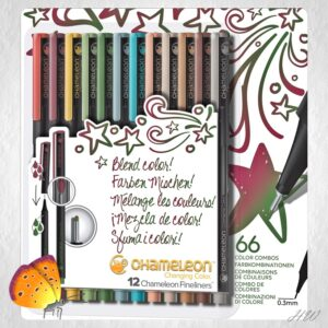 Chameleon Fineliner Designer Colors