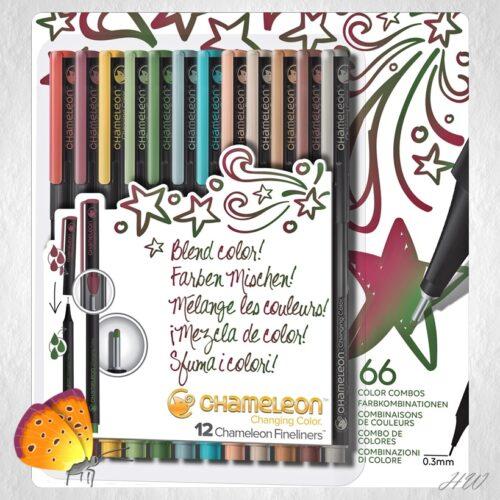 Chameleon Fineliner Designer Colors